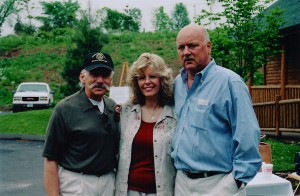 Anthony and Beverly Manzi with Dick Benson - 2004 at Pistol Creek Golf Club
